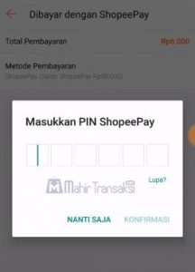 Cara Bayar Shopee Menggunakan ShopeePay