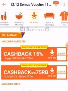 Cashback ShopeePay