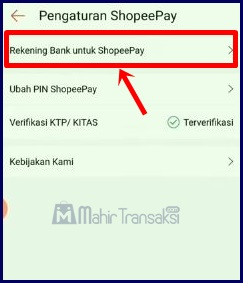 Cara Transfer ShopeePay Ke Rekening Bank