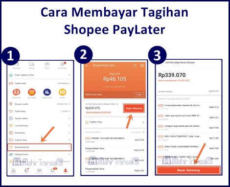 Cara Bayar Tagihan Shopee PayLater