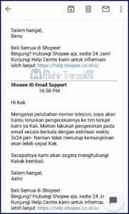 Cara Mangganti Nomor HP Shopee Yang Lupa, Hilang Atau Tidak Aktif