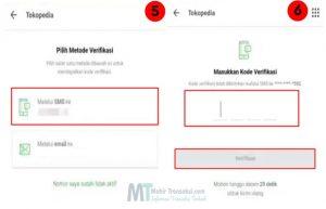 Cara Mengganti Nomor HP Di Tokopedia Paling Mudah
