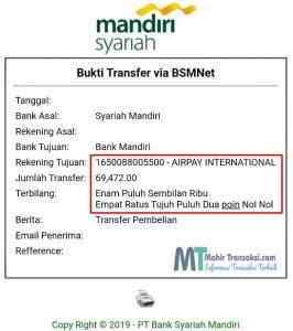 Cara Bayar Shopee Lewat ATM Mandiri Syariah Paling Mudah