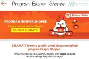 Cara Daftar Program Expor Shopee