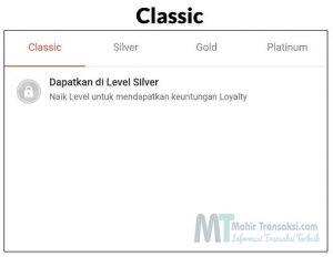 Keuntungan Shopee Loyalty Classic, Silver, Gold Dan Platinum Di Shopee