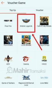 Cara Top Up Diamond Mobile Legends Di Shopee