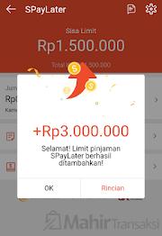 Cara Menaikkan Limit Shopee PayLater Hingga 15 Juta Rupiah