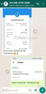 Cara Top Up GoPay Pakai Pulsa All Provider