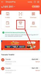 Cara Transfer ShopeePay Ke Dana Tanpa Verifikasi