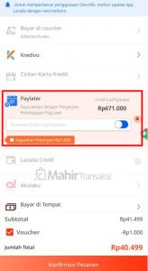 Cara Menaikkan Limit Lazada PayLater Hingga 5 Juta Rupiah