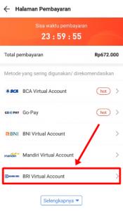 Cara Bayar Akulaku Via ATM BRI