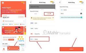 Cara Transfer GoPay Ke Dana Tanpa Biaya Admin